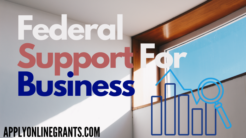 Federal Support For Small Business