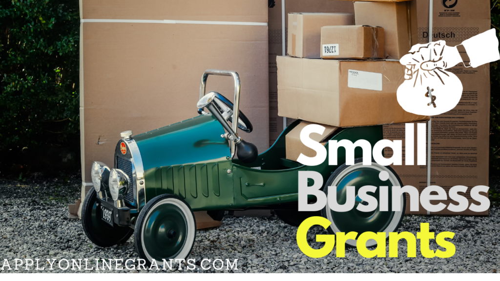 Grant Money For Small Business