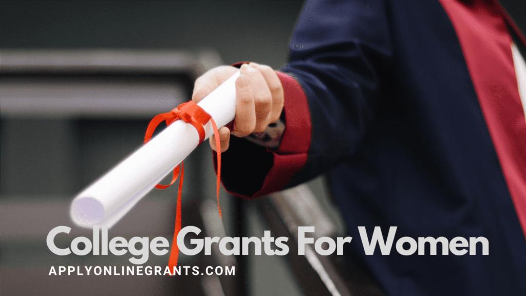 College Grants For Women