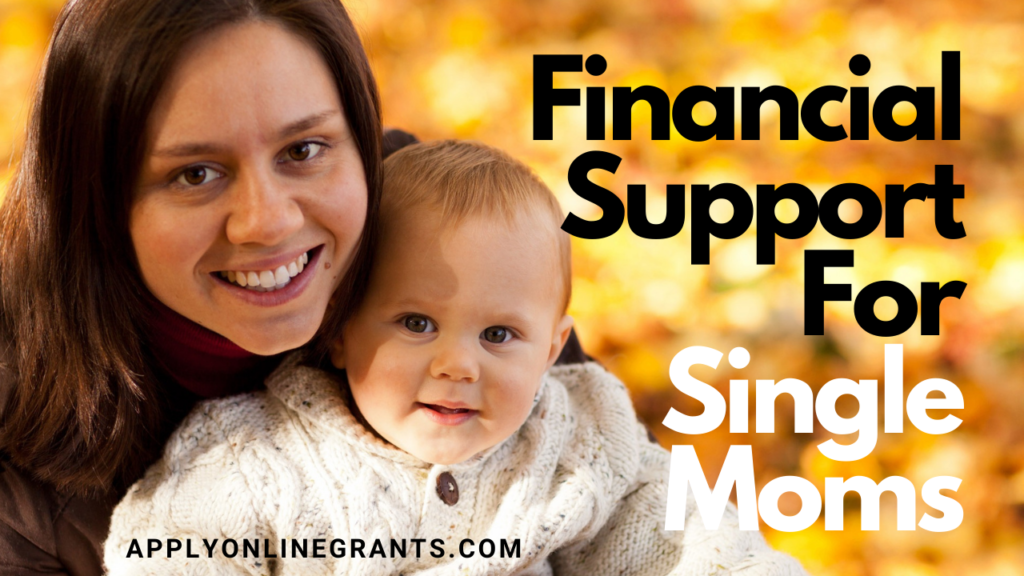 Financial Support For Single Moms