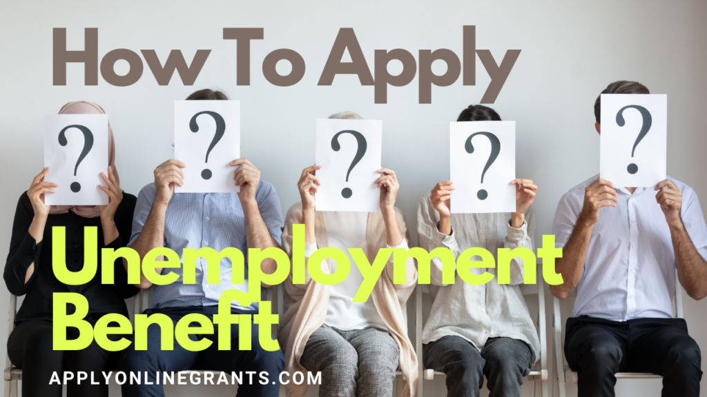Apply Federal Unemployment Benefit