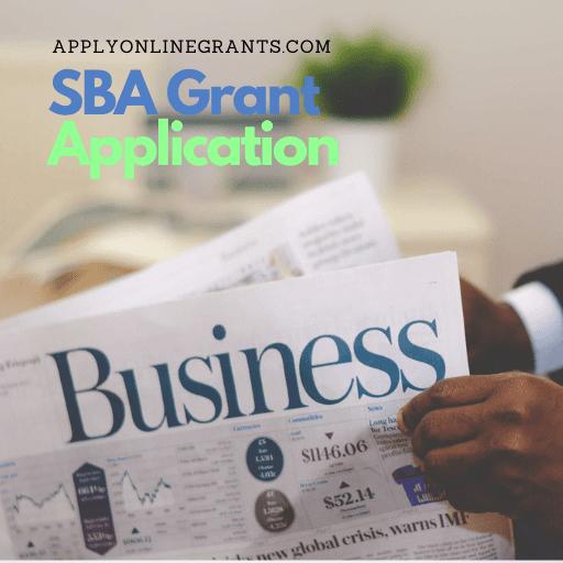 SBA Grant Application