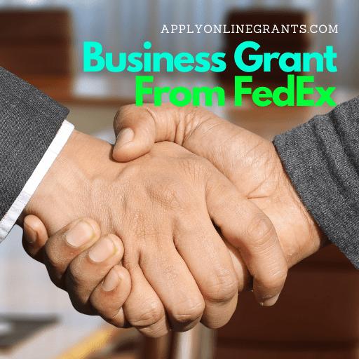 FedEx Small Business Grant